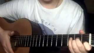 Песня под гитару: Осень. группы ДДТ. (Видеоурок для начинающих)