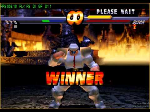 Street Fighter EX2 PLUS ALL CHARACTERS vs BISON II