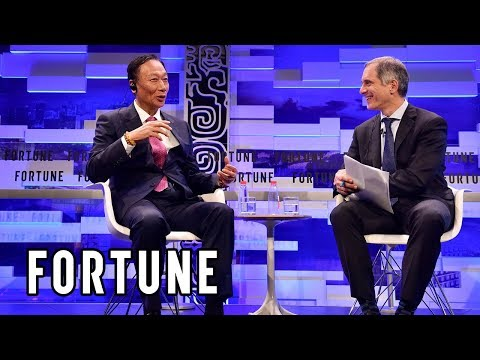 Foxconn CEO Discusses the Future of Manufacturing I Fortune