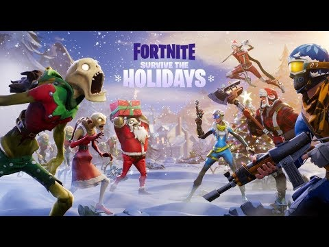 FORTNITE: SEASON 2 LEVEL 7 CHRISTMAS UPDATE! (BATTLE PASS ...