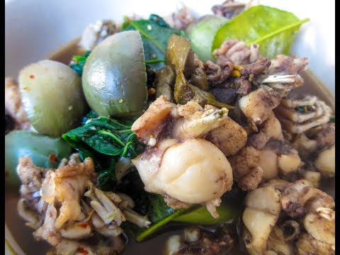 how to cook frogs soup laos food