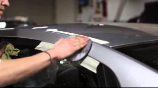 Устранения дефекта покраски и шлифовка кузова автомобиля
