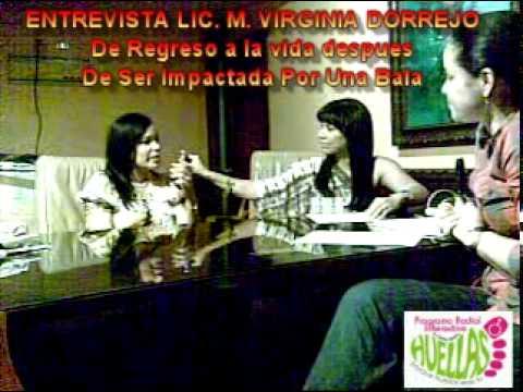 PROGRAMA RADIAL HUELLAS: ENTREVISTA LIC. MARIA VIR...