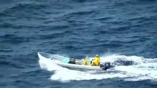 Coast Guard High Speed Chase stops Mexican Poachers in Gulf of Mexico
