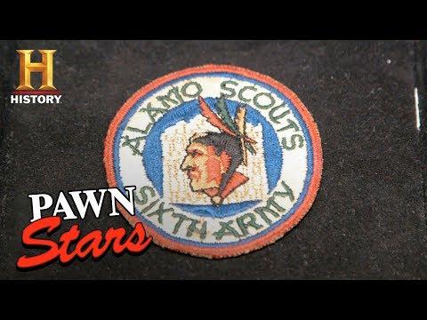 Pawn Stars: Alamo Scouts WWII Military Patch (Season 15)   History