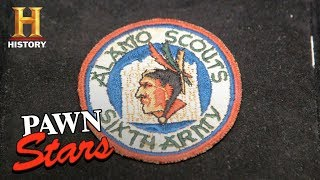 Pawn Stars: Alamo Scouts WWII Military Patch (Season 15) | History