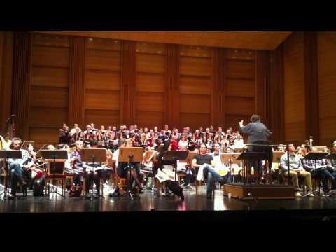 Coro Intermezzo. Ensayo Roméo Et Juliette (18)
