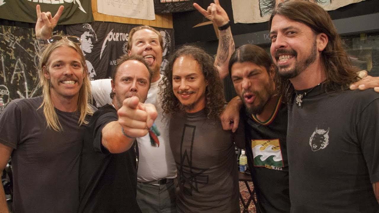 metallica death on the radio with dave grohl amp taylor