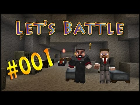 Let's Battle [Flans Mod] Minecraft - Part #001