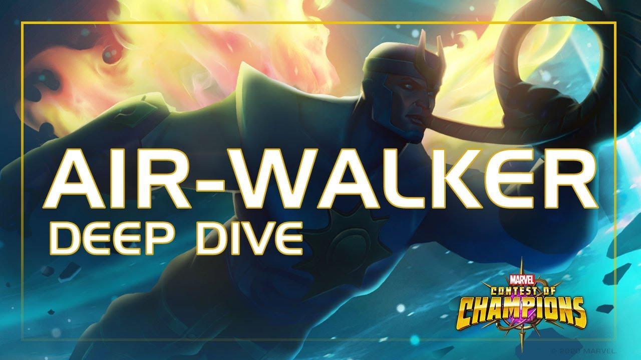 Air-Walker Deep Dive: Galactus' Bestie   Marvel Contest of Champions