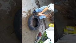 How to dispose tires for your home trash service