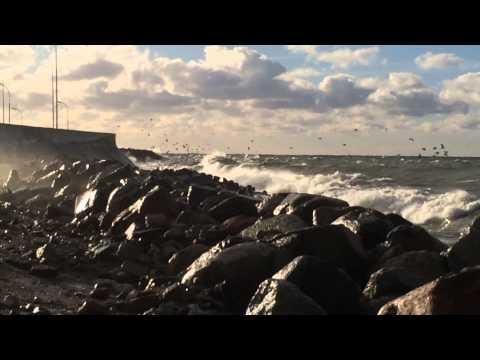 Storm på Gotland