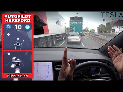 tesla-autopilot-in-a-uk-city-#1---can-it-navigate-4-lanes-&-drivers-cutting-in-traffic?!-(hereford)