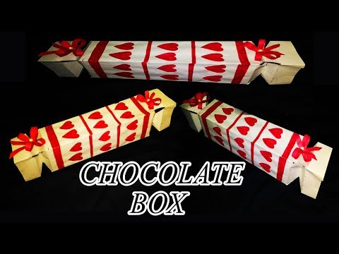 How to make : Exploding Box with Chocolates, DIY GIFT BOX,Easy making of chocolate explosion box,DIY