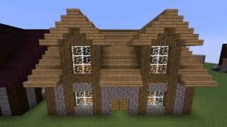 minecraft survival simple mode medieval tutorial houses easy designs cottage blueprints brick xbox friendly tutorials plans