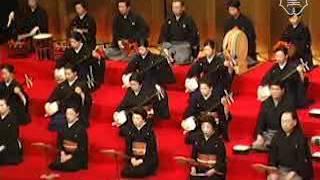 日本(長唄)『舌出三番叟』|'Shitadashi-sanbaso' (nagauta), Japan. ...