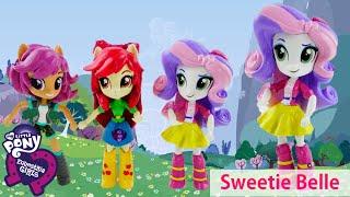 New Custom SWEETIE BELLE My Little Pony Equestria Girl Minis Doll Tutorial