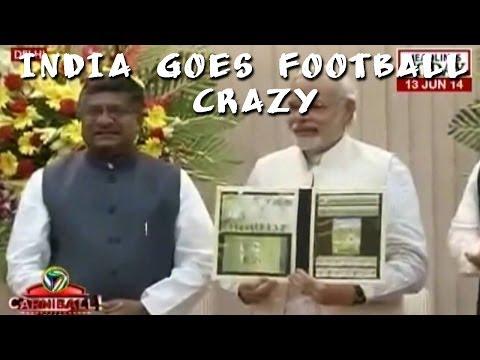 World Cup fever grips postal department & Narendra Modi