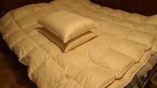 Упругость подушки из пуха белого гуся(, 2015-11-15T20:39:00.000Z)