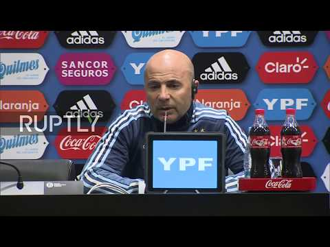 LIVE REFEED: Sampaoli and Cherchesov hold press conf following Russia vs Argentina game