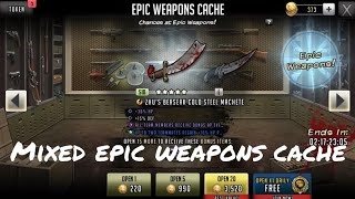 Epic Weapons Cache Fast and Tough - The Walking Dead: Road To Survival TWD