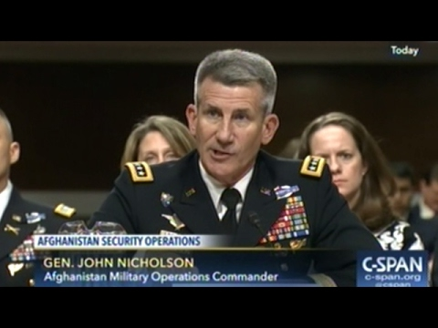 "General John Nicholson Tells Senate ""We Are In A Stalemate"" In Afghanistan"