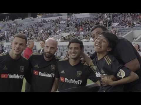 Truly Inspirational: Juan Villa, Battling Cerebral Palsy, Meets LAFC Players
