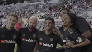 Truly Inspirational: Juan Villa, Battling Cerebral Palsy, Meets LAFC Players