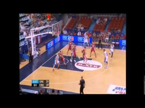 ΕΘΝΙΚΗ ΑΝΔΡΩΝ | Video : Ελλάδα-Κροατία 66-68, (τουρνουά Πο, 10.08.2014)