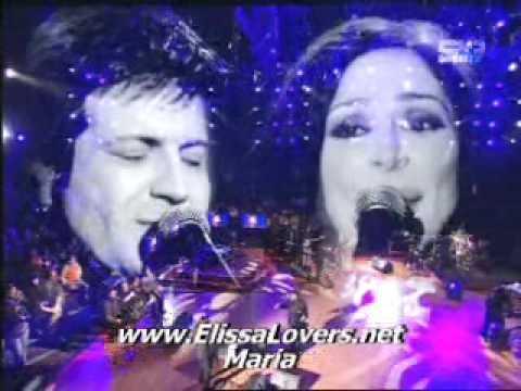 Elissa Law Fiyyi With Jad Nakhleh LIVE TARATATA  With LYRICS ENGLISH 2008  ملكة اليسا