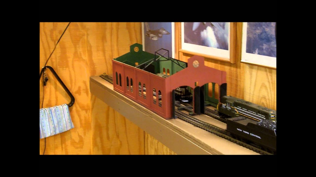 Mth Trains Layout Update Engine House Siding On The