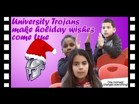 News Around The Lone Star State - Local University High School students make Christmas wishes come true