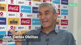 Juan Carlos Oblitas habla DE TODO en exclusiva con Movistar Deportes | El futuro de la FPF