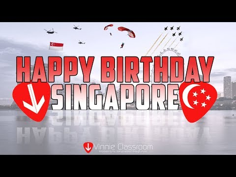 Top 9 Super Classic Singapore National Day Songs - Rearranged by Vinnie Classroom (Lyric Video)