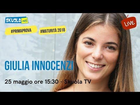 Giulia Innocenzi e i suoi consigli per la #primaprova