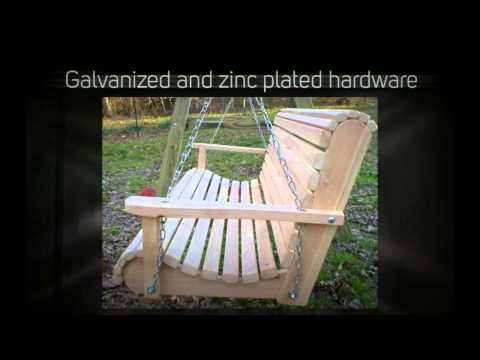 Ted's Porch Swings Rollback I Porch Swing