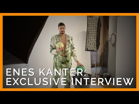 Enes Kanter Tells PETA What Made Him Want to Go Vegan