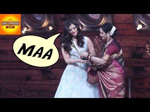 Aishwarya Rai Bachchan CALLS Rekha As Maa | Gossip | Bollywood Asia