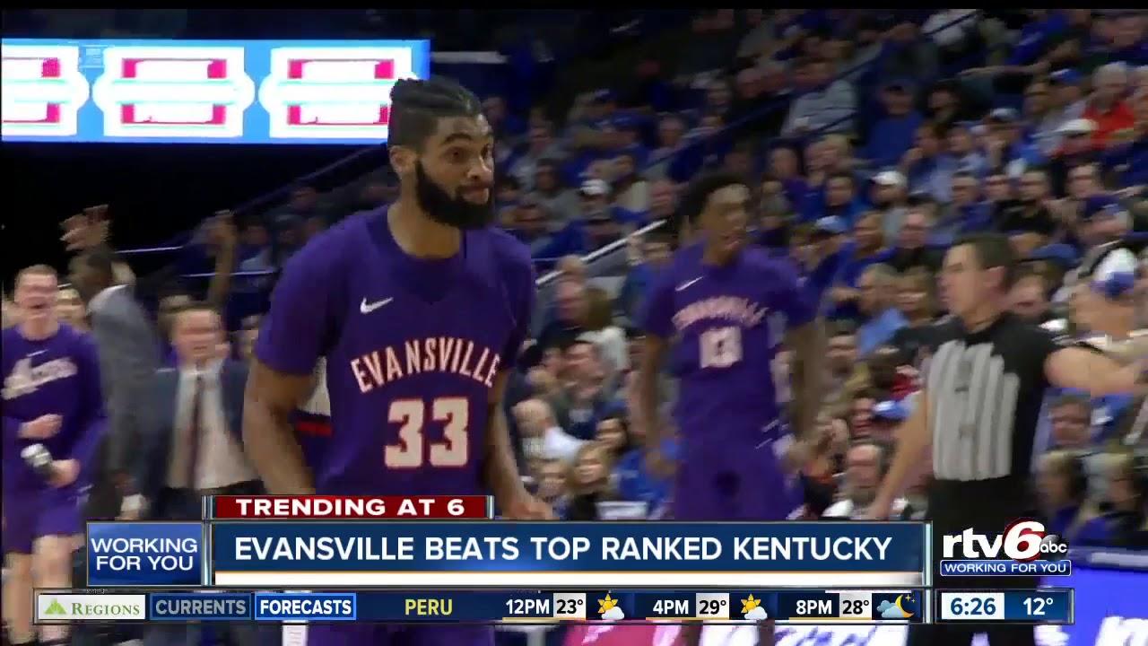 Evansville Beats Top Ranked Kentucky