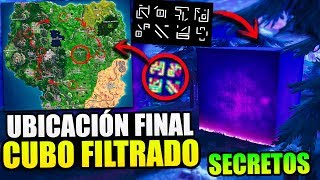 NEW SECRETS *CUBE'S FINAL LOCATION* THEORIAS [FILTRATED] FORTNITE BATTLE ROYALE