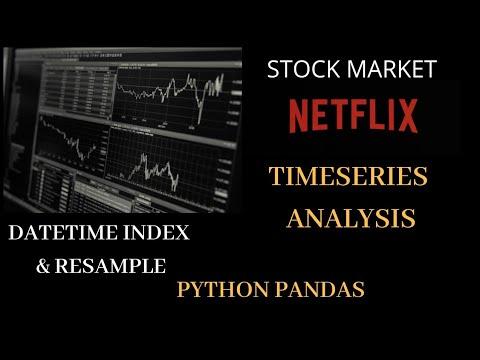 Pandas Time Series Analysis   Time Series Python Datetime Index   Resample