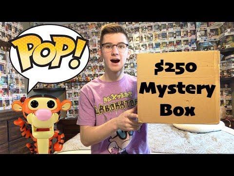 $250 Funko Pop Mystery Box