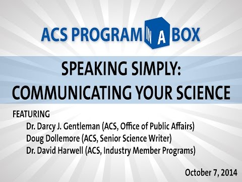 ACS Program-in-a-Box: Speaking Simply