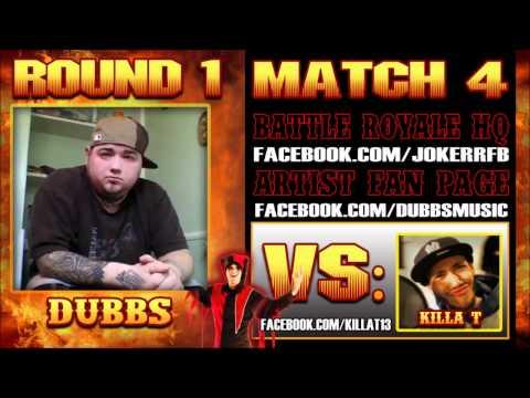 "Dubbs - ""All Bad Now"" (Killa T Diss) The Jokerr's IDYTDM Battle Royale 2012"