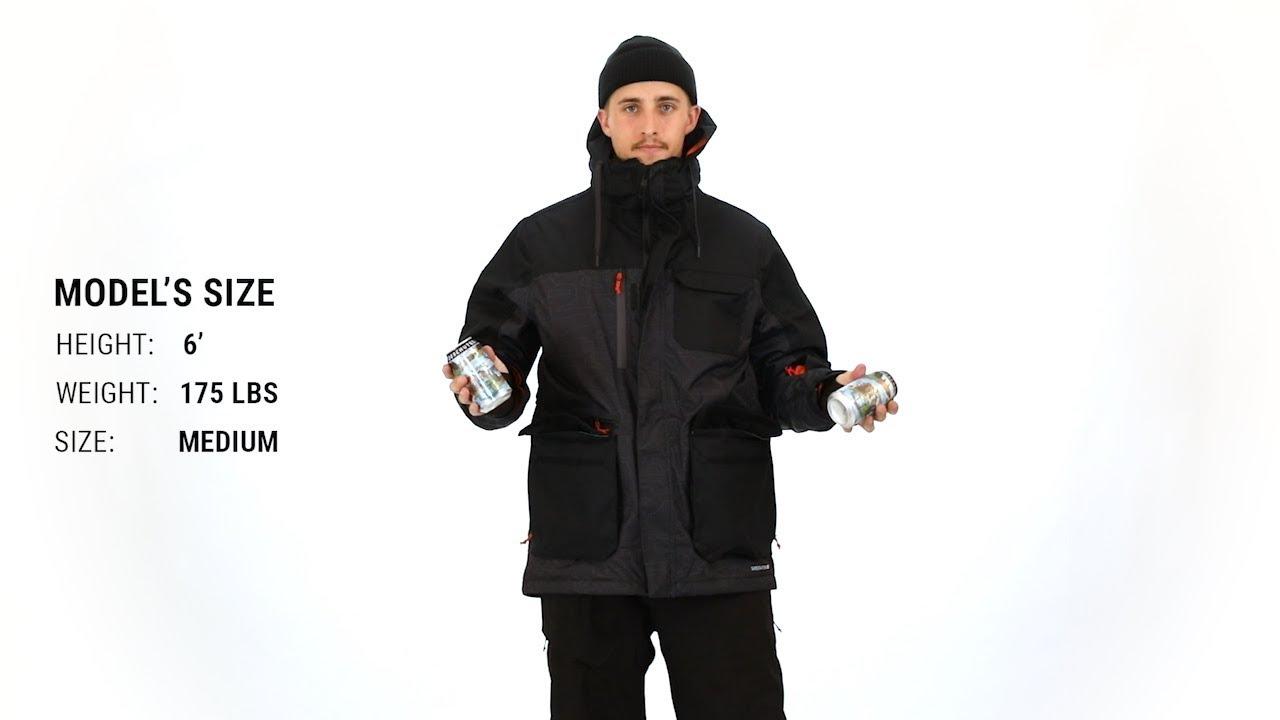 Waterproof Ski//Snowboard Jackets 686 Mens Sixer Insulated Jackets