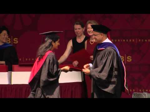 Harvard Business School Commencement 2013