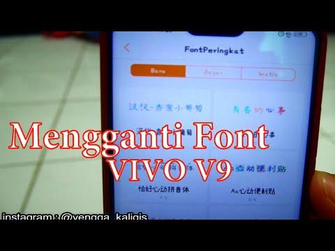 Cara mengganti Font VIVO V9 & VIVO V11 Pro - Indonesia HD