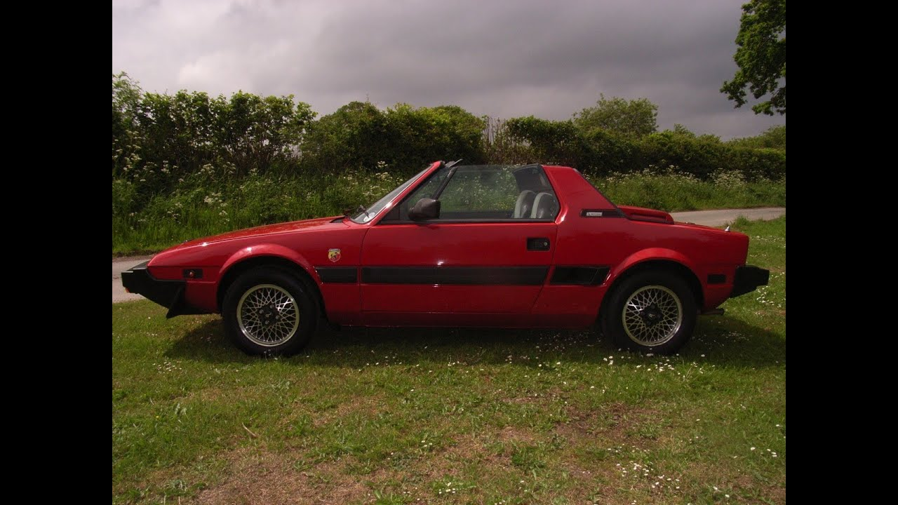 Classic Italian sports car Fiat X1/9 Bertone for sale - YouTube