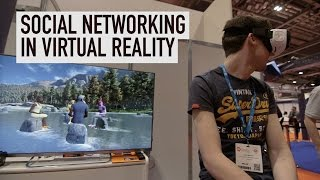 Social networking in virtual reality: VTime at Wearable Technology Show