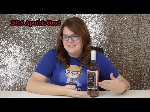 Wine Review: 2016 Apothic Rosé